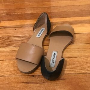 TWO TONE STEVE MADDEN SANDALS